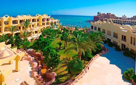 Egypt - Hurghada na 8 až 9 dní, all inclusive s dopravou letecky z Prahy přímo na pláži