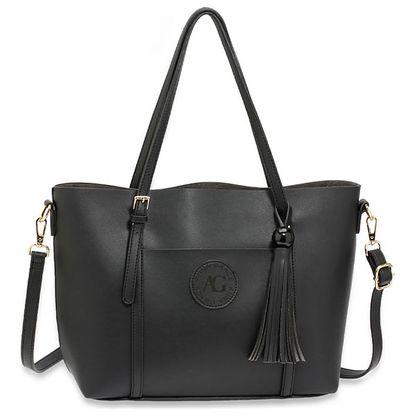 Dámská černá kabelka Lucille 595