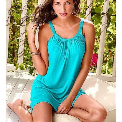 Dámské letní mini šaty na ramínka - 5 barev