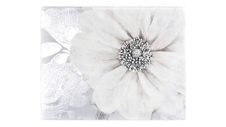 Obraz Graham & Brown Grey Bloom, 80x60cm