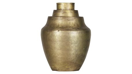 Váza v barvě mosazi De Eekhoorn Cheer