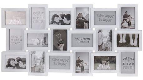 Obdélníkový rámeček - pro 18 fotek Emako
