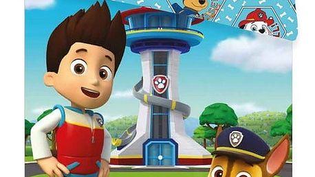 Jerry Fabrics Dětské bavlněné povlečení Paw Patrol PP143, 140 x 200 cm, 70 x 90 cm