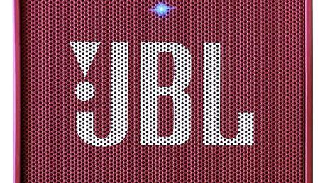 Přenosný reproduktor JBL GO růžový