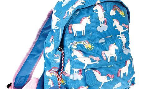 Modrý batoh s motivem jednorožců Rex London Magical Unicorn