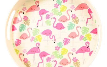 Bambusový tác Rex London Flamingo Bay