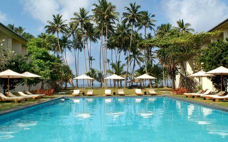 Srí Lanka - Kalutara na 7 až 8 dní, all inclusive s dopravou letecky z Prahy přímo na pláži