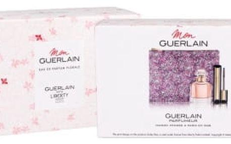Guerlain Mon Guerlain Florale dárková kazeta pro ženy parfémovaná voda 50 ml + řasenka Cils d´Enfer So Volume 01 Noir 8,5 ml