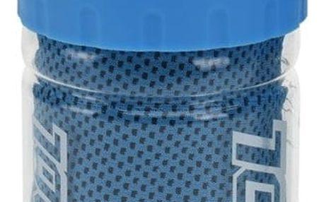 Chladící ručník v lahvi, modrá