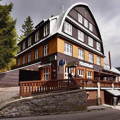 3–8denní wellness pobyt pro 2 s polopenzí v hotelu Svatý Hubert v Krkonoších