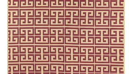 Červený koberec Ya Rugs Claret Red, 80x150cm