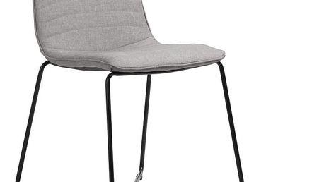 Sada 4 béžových židlí Design Twist Ibiza