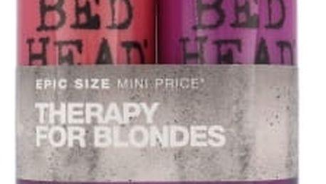 Tigi Bed Head Dumb Blonde dárková kazeta pro ženy šampon 750 ml + kondicionér 750 ml