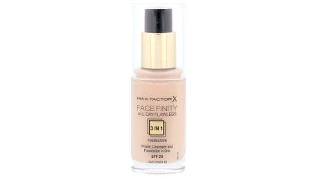 Max Factor Facefinity All Day Flawless 3in1 SPF20 30 ml makeup pro ženy 40 Light Ivory