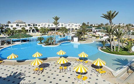 Tunisko - Djerba na 7 až 8 dní, all inclusive s dopravou letecky z Prahy 100 m od pláže