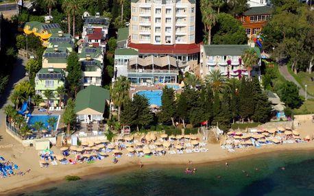 Turecko - Alanya na 8 až 9 dní, all inclusive s dopravou letecky z Prahy nebo Brna přímo na pláži
