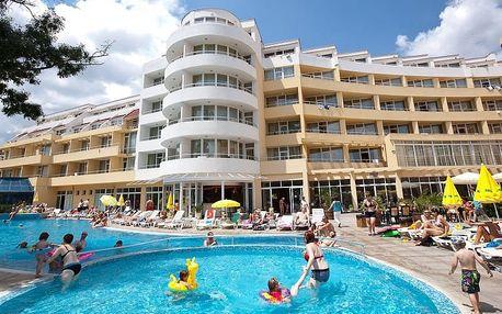 Bulharsko - Slunečné Pobřeží na 8 dní, all inclusive s dopravou letecky z Prahy 150 m od pláže