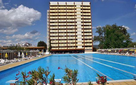 Bulharsko - Slunečné Pobřeží na 8 až 11 dní, snídaně s dopravou letecky z Bratislavy, Košic nebo Popradu 20 m od pláže