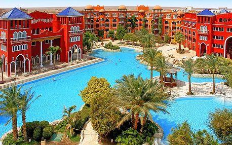 Egypt - Hurghada na 8 dní, all inclusive s dopravou letecky z Prahy 250 m od pláže