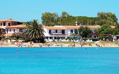Itálie - Sardinie / Sardegna na 8 dní, light all inclusive s dopravou letecky z Prahy 200 m od pláže