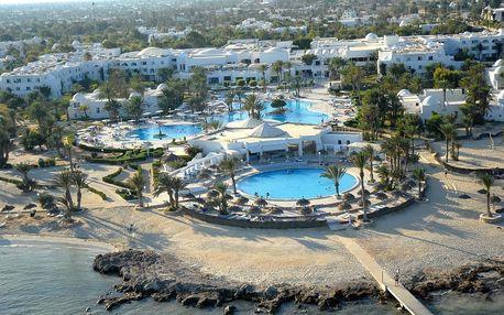 Tunisko - Djerba na 7 až 8 dní, all inclusive s dopravou letecky z Brna nebo Prahy 50 m od pláže