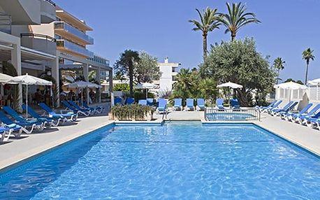 Španělsko - Mallorca na 8 až 12 dní, polopenze s dopravou letecky z Prahy nebo Brna 350 m od pláže