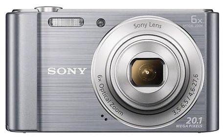 Digitální fotoaparát Sony Cyber-shot DSC-W810S stříbrný