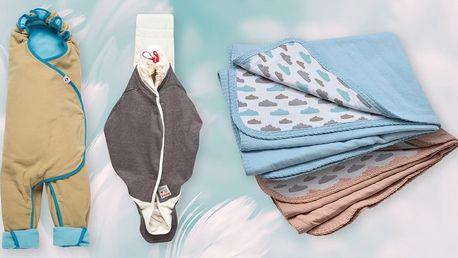 Nosítko, zavinovačka nebo deka značky Lodger