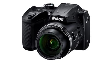 Digitální fotoaparát Nikon Coolpix B500 černý + dárek Elektronický fotorámeček Hyundai LF 710 černý v hodnotě 899 Kč + DOPRAVA ZDARMA