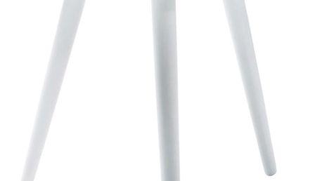 Bílý odkládací stolek Kare Design Teatime