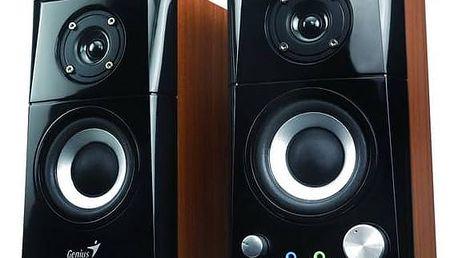 Genius SP-HF 500A 2.0 (31730905100) černá/imitace dřeva