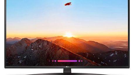 Televize LG 49UK6470PLC černá