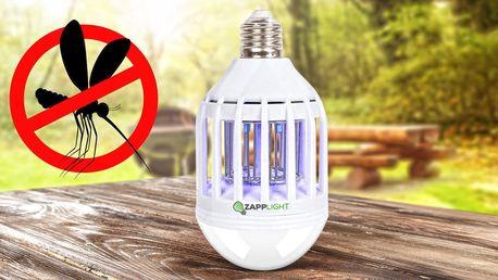 Žárovka a odpuzovač komáru 2v1 Zapp Light