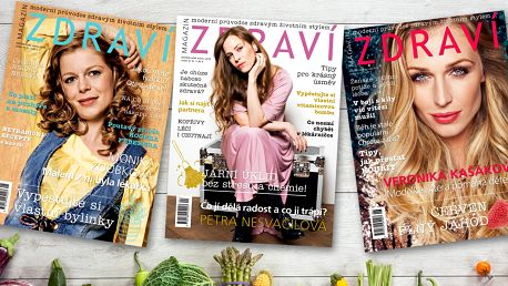 Tříměsíční předplatné časopisu Zdraví