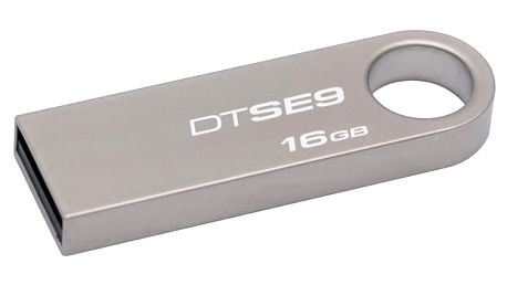 USB Flash Kingston DataTraveler SE9 16GB kovový (DTSE9H/16GB)