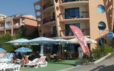 Bulharsko - Nesebar na 8 dní, plná penze, polopenze nebo snídaně s dopravou letecky z Prahy nebo Sliače 20 m od pláže
