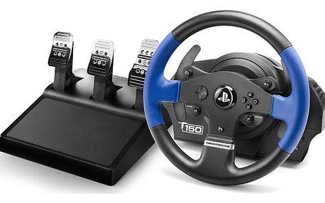 Volant Thrustmaster T150 PRO pro PS4, PS3, PC + pedály černý (4160696)
