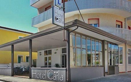 Itálie - Lignano na 4 až 8 dní, polopenze s dopravou vlastní 800 m od pláže