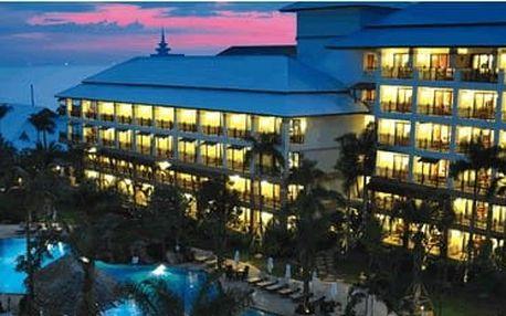 Thajsko - Pattaya na 10 až 11 dní, snídaně s dopravou letecky z Prahy přímo na pláži