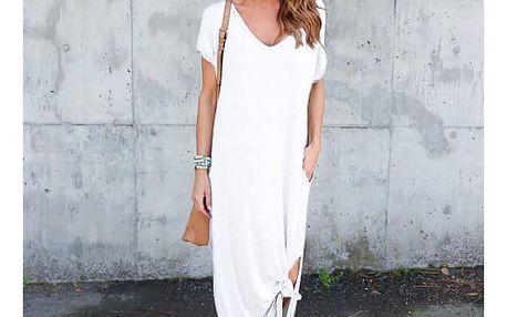 Dlouhé šaty na léto - 2 střihy