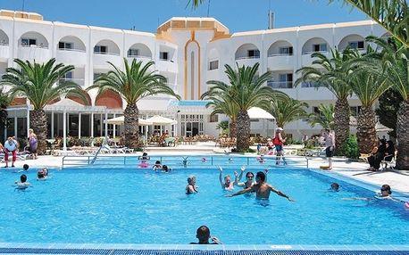 Tunisko - Port El Kantaoui na 8 až 9 dní, polopenze s dopravou letecky z Prahy 600 m od pláže