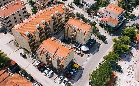 Chorvatsko - Central Dalmatia na 4 dny, bez stravy s dopravou vlastní 20 m od pláže