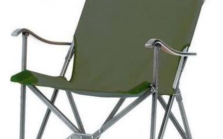 Coleman SLING CHAIR - hliníkový rám černá/zelená