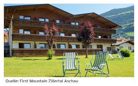 Rakousko - Tyrol na 3 dny, light all inclusive s dopravou vlastní