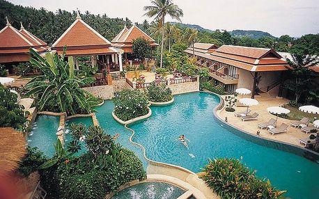Thajsko - Phuket na 10 dní, snídaně s dopravou letecky z Prahy 300 m od pláže