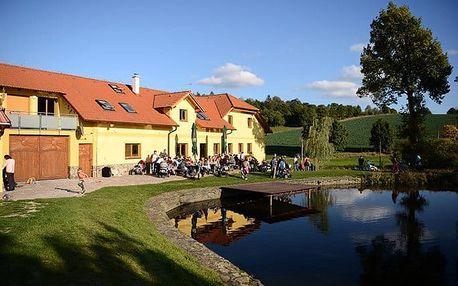 4denní relaxační pobyt pro 2 v penzionu Podveský mlýn u Domažlic
