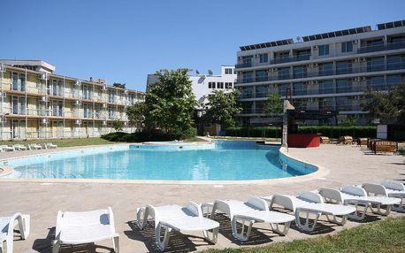Bulharsko - Slunečné Pobřeží na 8 až 13 dní, bez stravy s dopravou letecky z Budapeště 200 m od pláže