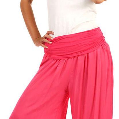 Dámské harémové kalhoty béžová