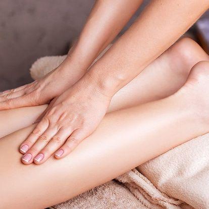 Manuální lymfatická masáž + lymfatická masáž hlavy