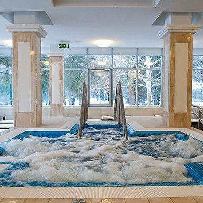Luxusní pobyt v Hunguest Hotel Panoráma, který je propojen s termálním